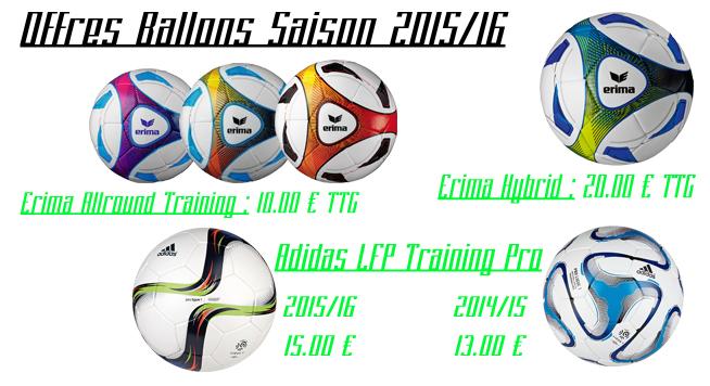 Offres Ballons 2015